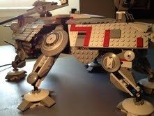 Lego Star Wars The Clone Wars at TE Walker 7675 All Pieces Figures