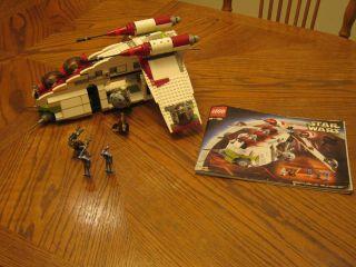 Lego Star Wars Episode II Republic Gunship 7163