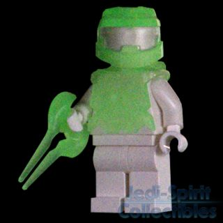 Lego Halo Custom Master Chief Glow in Dark Minifig