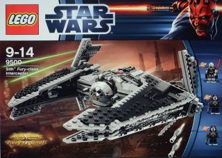 Lego Star Wars 9500 Sith Fury Class Interceptor Factory SEALED Box