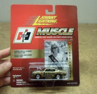 Johnny Lightning Muscle Linda Vaughn Miss Hurst Mint in Box