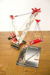 Lego Technic Crawler Crane 8288 Complete Directions