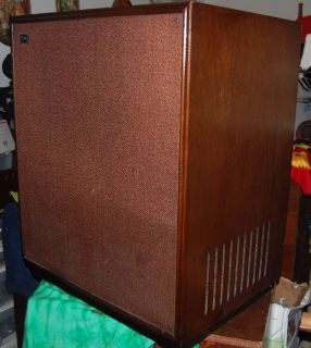 Vintage Leslie Model 112 Organ Speaker Cabinet Works