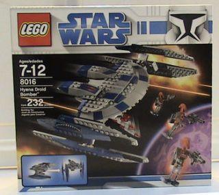 Lego Star Wars Hyena Droid Bomber 8016