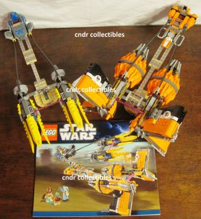Lego Star Wars Set 7962 Anakins Sebulbas Podracers 2 Ships Only No