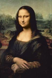Mona Lisa Art Poster Leonardo Da Vinci