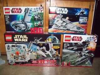 Lego Star Wars Sets 7754 8087 8099 8036 New
