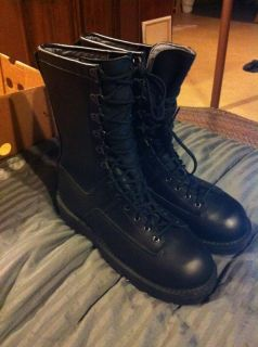 Danner Fort Lewis Black Gore Tex Boots Men 10 5 EE 23600 NEW in BOX