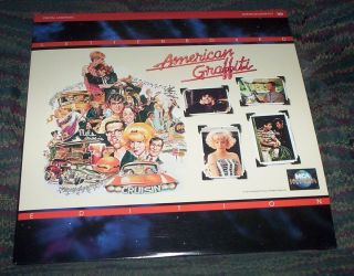Laser Disc American Graffiti Letterbox Edition THX Richard Dreyfuss
