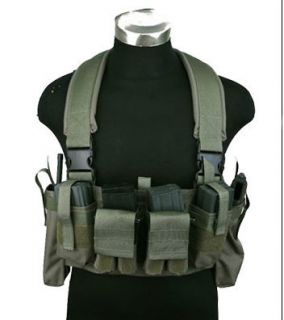 Pantac USA Chest Rig, Ranger Green Vest   Lifetime Replacement, 1000D