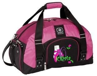 Personalized Ballet Duffel Ballerina Duffle Gym Bag