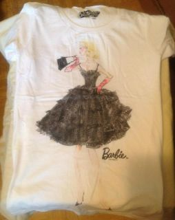 Old Navy Barbie Doll T Shirt Tee Ladies Girls Women Size Small Mattel