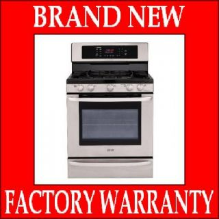 LG Gas Range LRG3095ST Convection Stainless Steel Single Oven 17 000