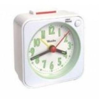 Analog Quartz Travel Sleep Alarm Clock w Snooze Light Free SHIP