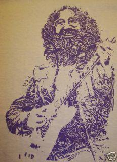 Garcia Grateful Dead Swirl T Shirt Weir Lesh Camel XXLG 2Xlg
