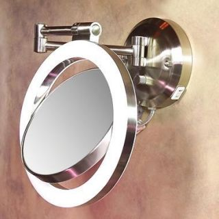 Vanity Collection 3 Panel Lighted Makeup Mirror Explore