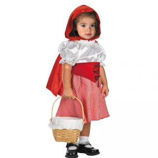 Lil Red Riding Hood Toddler Halloween Costume 12 18mo