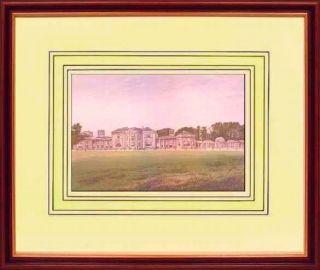Heaton Park Prestwich EGERTON Antique Framed Print c 1880 Original