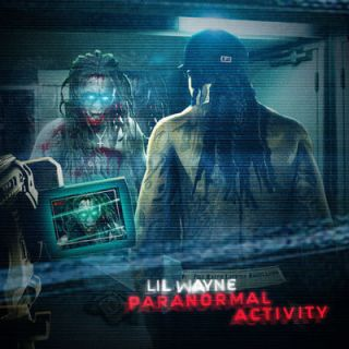 Lil Wayne Paranormal Activity Official Mixtape CD