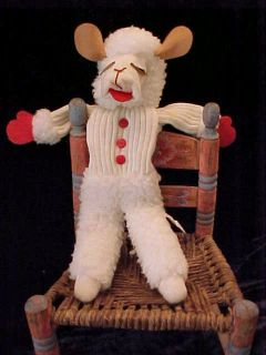 Shari Lewis Enterprise Inc Lamb Chop 20 Puppet 1992