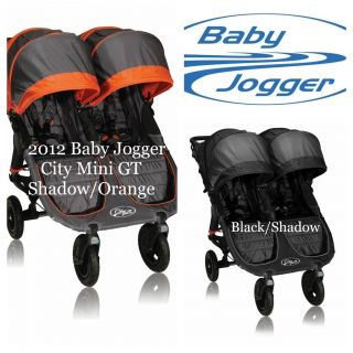 New 2012 Baby Jogger City Mini GT Double Travel Lightweight Stroller