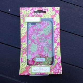 Lilly Pulitzer iPhone 4 Cell Phone Cover Holder Case Luscious Green