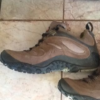 Womens Merrell Sport Gore Tex Hiking Trail Shoes Sneakers Size 8