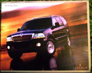 2004 Lincoln Aviator Sales Brochure 04