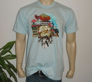 2008 OASIS rock concert american apparel t shirt L Noel Liam Gallagher