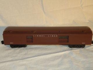 Lionel 19011 Madison Lionel Lines Baggage Car RARE