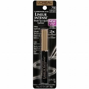 LOREAL PARIS LINEUR INTENSE BRUSH TIP LIQUID EYELINER CARBON BLACK 790