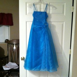 Primrose Pageant Bridesmaid Dress Juniors Sz 12 Super Cute Worn Once