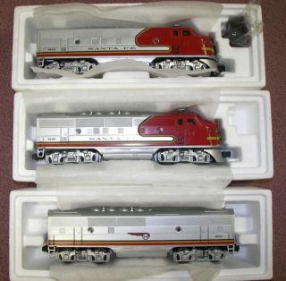 Lionel Train 6 11711 F3 ABA Diesel Trains Set