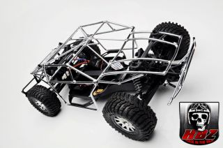 HPI Blitz Flat Black Roll Cage Chassis by HBZ USA Tough