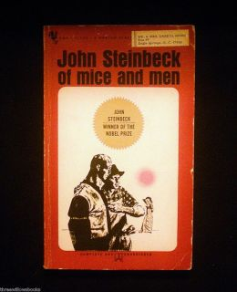 John Steinbeck Literary Classic Bantam Classic 1963 Used Book
