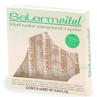 Salerm Ampollas Salermvital 5x10ml Efecto Keratina Liquida