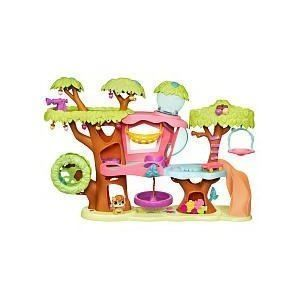 Littlest Pet Shop Treehouse Playset Lil Petshop Toy Tree House