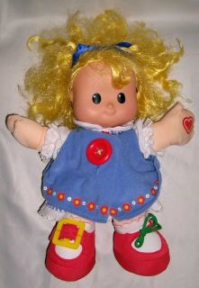 FP Little People Talk N Teach Me Dress Sarah Lynn Doll