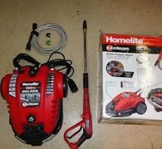 Homelite EZ Clean 1500 PSI 1 3 GPM Electric Pressure Power Washer