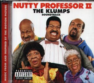 Professor 2 The Klumps soundtrack CD NEW Janet Jackson Jay Z LL Cool