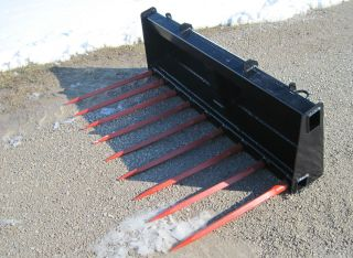 Skid Loader Skid Steer Tine Bucket Manure Brush Fork MF56