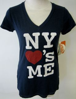 LOCAL CELEBRITY NY LOVES ME GIRLS TEE SHIRT NEW YORK URBAN CITY ART