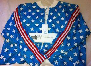 ObyO Jeremy Scott USA Olympics Tail Track Jacket Large L Lochte
