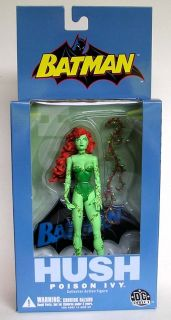 Direct Batman Hush Series 1 POISON IVY Action Figure Jeph Loeb Jim Lee