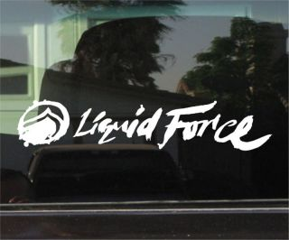 Liquid Force Wakeboards Vinyl Decal Sticker Pair