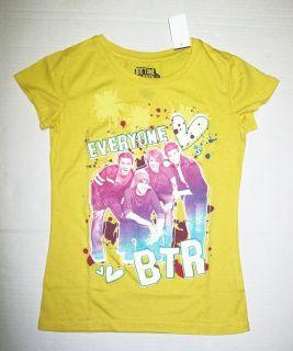 Big Time Rush T Shirt Sz 10 12 L Carlos James Logan Kendall BTR