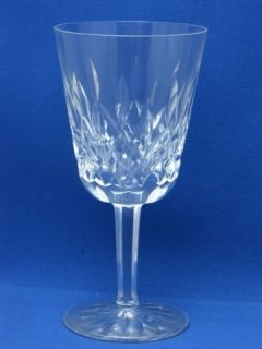 Lismore Pattern Waterford Water Glass Goblet Mint