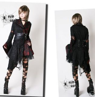 Fashion Visual Kei Punk Lolita Gothic Emo Kimono Dress