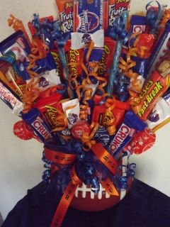 BSU Boise State University Candy Bouquet