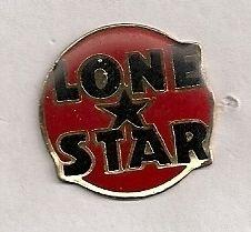 Lone Star Beer Name Emblem Vintage Enamel Pin